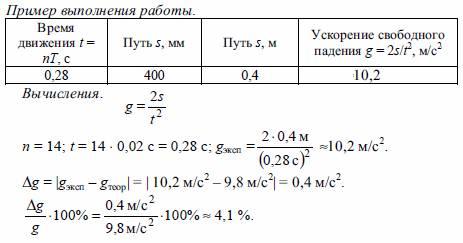 Измерение ускорения свободного падения с помощью оборотного маятника - img_0031jpg